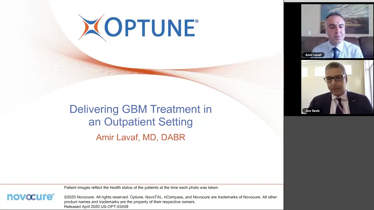 Optune Glioblastoma Gbm Treatment Video Library