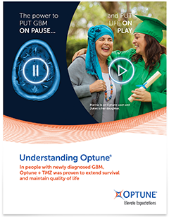 Understanding Optune® guide for glioblastoma (GBM) patients and caregivers