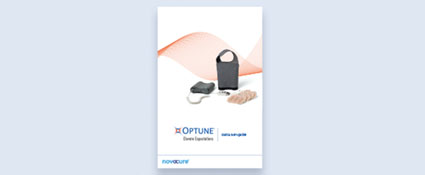 The quick start guide familiarizes you with the components of the treatment kit, helping ensure you set it ip correctly each and every time you use Optune