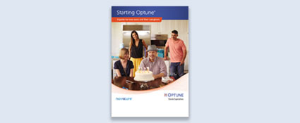 The Starting Optune® brochure explains getting started with Optune and answers your important questions