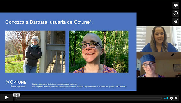 Optune Open House Webinar Spanish