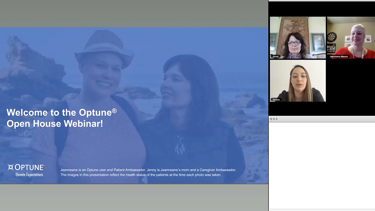 Optune® Open House Webinar